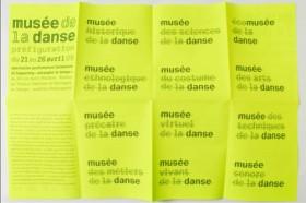 Mus-e de la Danse - Programme(2)