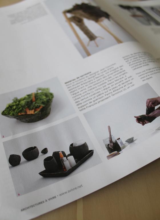 Laab publication design architecture vivre for Architecture a vivre magazine