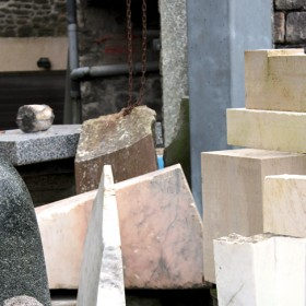 marbres, granits, pierres calcaires