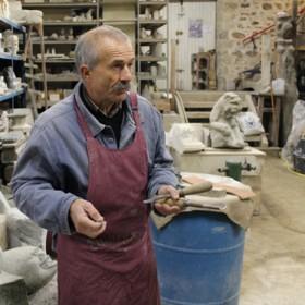 Philippe André, sculpteur tailleur