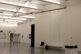 Une salle d'exposition