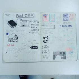 cahier de notes d'une étudiante de DSAA1