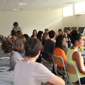 lancement du workshop : avant le banquet
