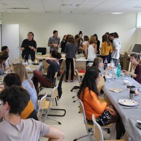 lancement du workshop : après le banquet
