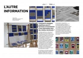 L'AUTRE INFORMATION Comment le designer graphique peut-il favoriser la transmission d'une information hors des médias dominants ?