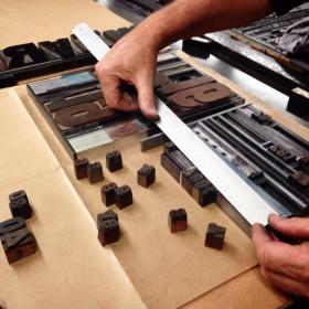 calage au musee de l imprimerie